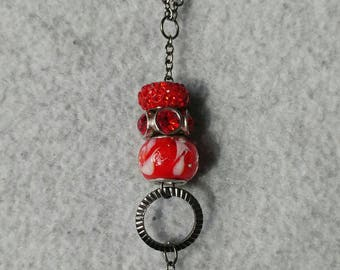 Red Red Red - Fob Lanyard