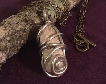 Wire Wrapped Pendent