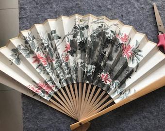 Handpainted Fan