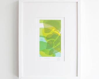 Plaintain Silkscreen Print