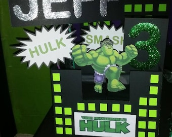 Incredible Hulk Centerpiece