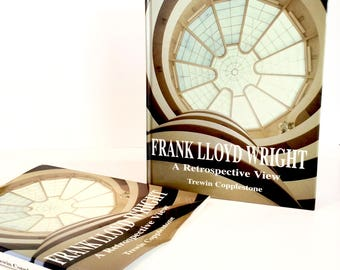 Mid Century Modern Frank Lloyd Wright Book A Retrospective View by Trewin Copplestone 1997