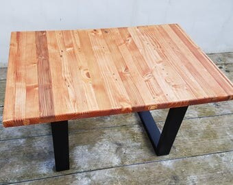 Modern Coffee Table made from reclaimed wood