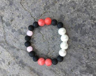 Anti-Anxiety oil diffuser lava bracelet