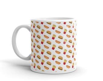 Fast food Cool Funny Mug