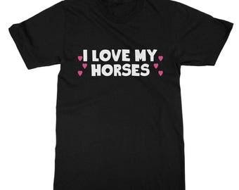 I love my horses