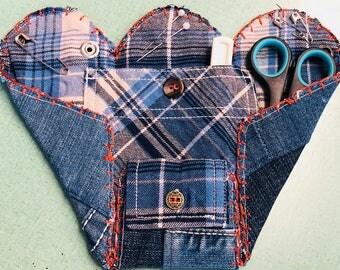 Upcycled Denim Sewing Kit