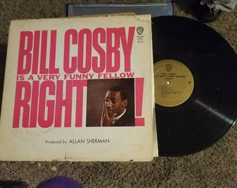 Bill Cosby - Bill Cosby Is A Very Funny Fellow...Right! - Warner Bros. Records 1963