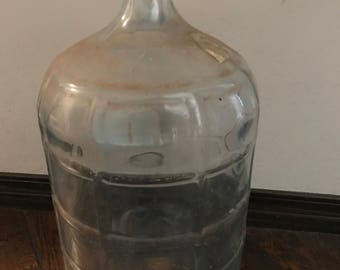 5 Gallon Glass Water Jug