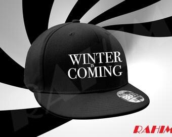 Winter Is Coming,Snapback, Baseball cap
