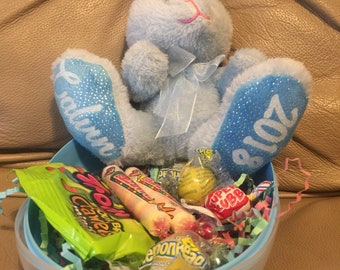 Custom/ personalized easter bunny