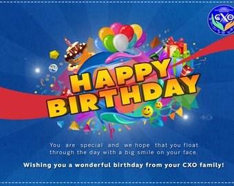 Birthday Card Post Card
