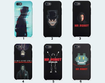 Mr. Robot Phone Case for iPhone X iPhone 8 Plus 7 Plus iPhone 6 6S Plus iPhone 5 5S SE