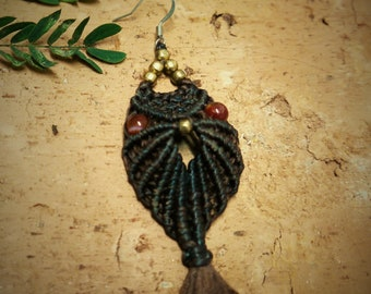 inspirational womens gift, bohemian jewelry, boho chic, Hippie jewelry, Boho accessories.Earring Owl. Free shipping