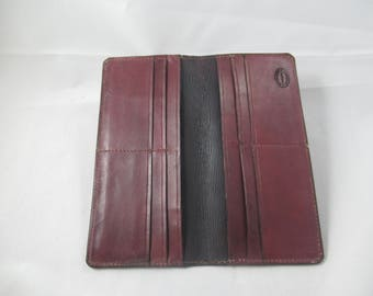 Leather Roper Style Long Wallet