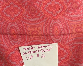 Jennifer Paganelli Girlfriends Diane 1 Yard Fabric