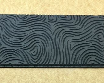 THUMB PRINT Embossed  Rubber Texture Tile Mat Stamp for Clay inks  Paint Soap  TTL199