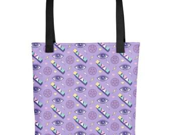 Cute Satan Pattern Tote Bag