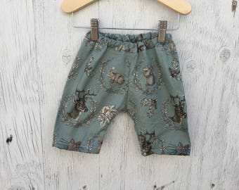 Toddler Woodland Animals Shorts