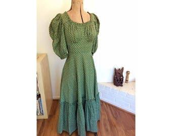 1940s Patio Dress - Small 34