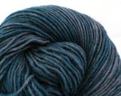 Valkill Hand Dyed DK weight NYS Wool 252 yds 4oz Moonless