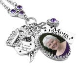 Personalized Charm Necklace, Photo Necklace, Picture Jewelry, Custom Photo, Personalized Charms, Custom Jewelry