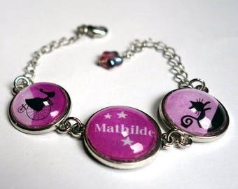 Message bracelet, Moon