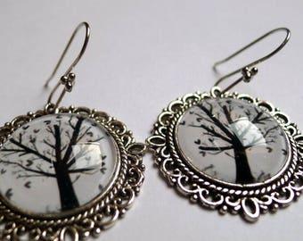 The tree of hearts BO146 earrings