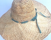 Wide brim Sun Hat | Floppy Straw Hat / Travel Hat / Packable Hat / Sun Hat /Beach Hat