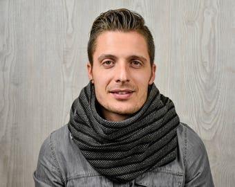 Neck warmer scarf ring infinity scarf unisex