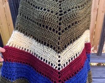 Boho Poncho Womens Crochet Accssories, Shawl Wrap, Poncho, Poncho, Green, Light Golc, Dark Red, Blue, Teal, Poncho, Crochet Accessory