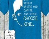 In A World Where Kindness Matters Choose Kind - Youth or Adult Graphic Tshirt Shirt