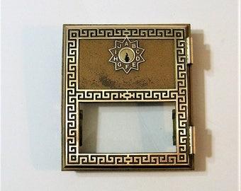 Post Office Box Door 1966 And Keys