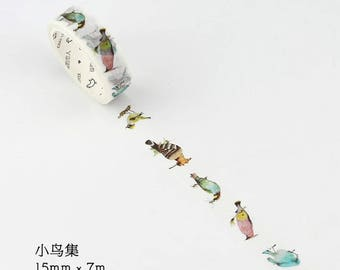 Kawaii Animal Masking Tape (LF15-6076)