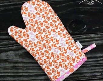 Oven Mitt Seahorses Ready To Ship