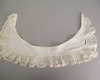 Antique lace collar Victorian