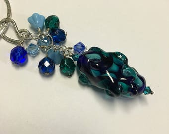 Under The Sea Cluster Necklace