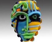 Aardvark's LEMON BANDIT Mask Bead
