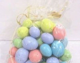 Mini Pastel Eggs Bag of 44