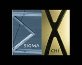 Sigma Chi Ornament...MARKED DOWN!