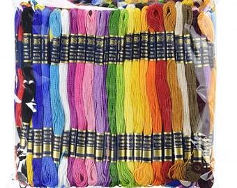 Iris Craft Thread 105 Skeins with 12 Bobbins 74198 fnt
