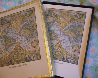 antioch map of the world bookplates