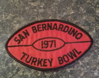 San Bernardino 1971 turkey bowl