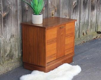 Lane Midcentury Modern Record Cabinet