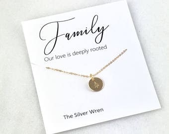 Jewelry Gift, Gift for Her, Gift for Mom, Sister, Grandma Gift, Grandma Necklace, Dainty necklace, Gift for Women, Family Necklace