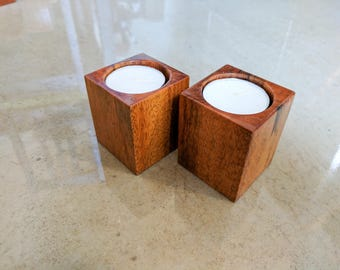 Candle holders - goncalo alves - set of 2