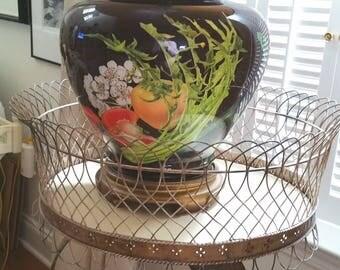 Large porcelain lamp