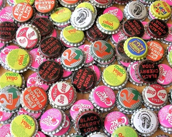 Vintage Bottlecaps Bottle Caps Soda Caps Pop Caps Soft Drink Caps Over 9 Pounds Unused
