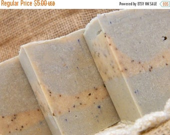 SALE Huckleberry Cold Processed Goats Milk Soap