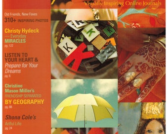 Sale! 7 magazines Artful Blogging Stampington - See IMAGES and Description